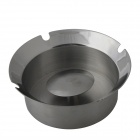 Windproof Stainless Steel Ashtray - Silver