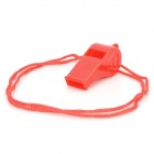 Colorful Plastic Whistle - Red + Navy Blue + Pink + Yellow + Green (10 PCS)