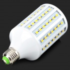 E27 18W 500lm 3500K 102-SMD 5050 LED Warm White Light Bulb - White (220~240V)