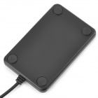 DU001 Free-Drive USB Powered EM RF ID Card Reader - Black