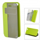 HELLO DEERE Protective PU Case for IPHONE 5 / 5S - Green