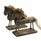 A Set of Old Horse Furnishing Articles - Wood
