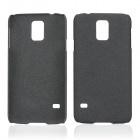 Protective Quicksand Plastic Case for Samsung Galaxy S5 - Black