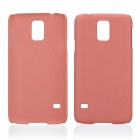 Protective Quicksand Plastic Case for Samsung Galaxy S5 - Red
