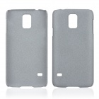 Protective Quicksand Plastic Case for Samsung Galaxy S5 - Grey