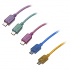 Micro USB Male to USB Male Charging & Sync Data Cable Samsung / HTC / Sony (5 PCS)