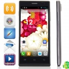 "KVD P6(S109) MTK6572 Dual-core Android 4.2.2 WCDMA Bar Phone w/ 4.5"" IPS, FM, Wi-Fi and GPS - Black"