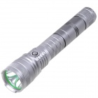 NEW-A10 5-Mode 800lm White LED Flashlight - Silver Grey (2 x 26650)