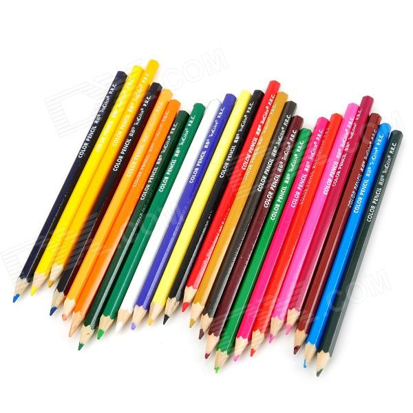 CSQB024 24-in-1 Colored Drawing Pencils Set