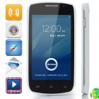 "DOOGEE Collo3 DG110 MTK6572 Dual-core Android 4.2.2 WCDMA Bar Phone w/ 4.0"" IPS, 4GB ROM, GPS -White"