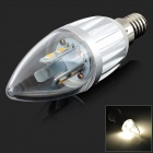E14 4W 180lm 3000K 6-SMD 5630 LED Warm White Candle Spotlight Bulb (85~265V)