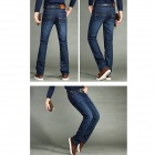 Men's Slim Fit Straight Jeans - Blue (Size 34)