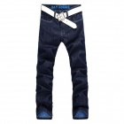 New Type Of Slim Fit Straight Men's Jeans Trousers - (Size 33)