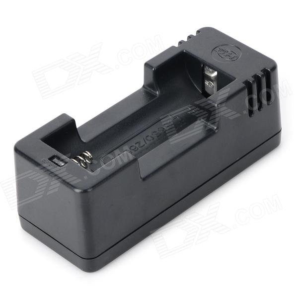 JIA-001 18650/26650 batterilader + USB lader adapter + oss-plugg laderen sett - sort
