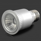 LZ-03 E27 5W 1-LED Spotlight Lamp Housing - Silver (85~260V)