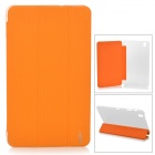Protective PU Leather Case for Samsung Galaxy Tab Pro T320 - Orange Yellow
