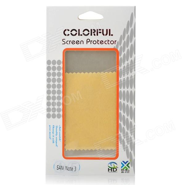 Beskyttende PET speil Screen Protector vakt Film for Samsung Galaxy Note 3 N9000