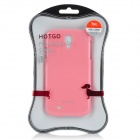 HOTGO Corgi Protective PC Case for Samsung Galaxy S4 - Pink
