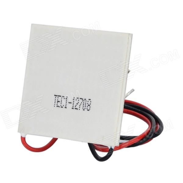 TEC1-12708 65W Semiconductor Refrigeration Part 5050 thermoelectric cooler tec1 12708 15v8a 12v temperature difference semiconductor refrigeration refrigerating capacity 69w