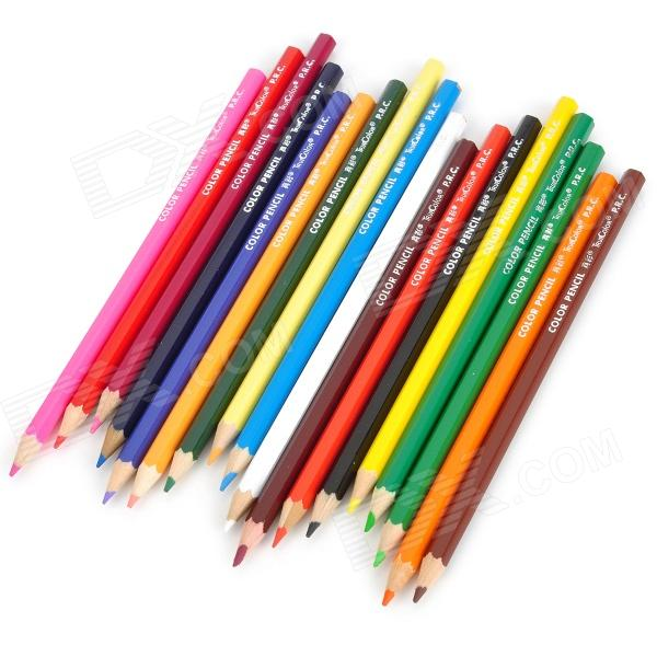 CSQB018 Drawing / Sketching Color Pencil - Multicolored (18 PCS)