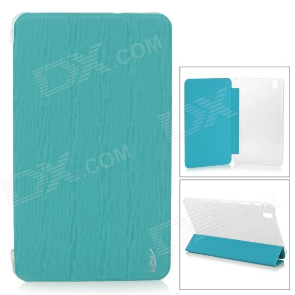 Protective PU Leather Case for Samsung Galaxy Tab Pro T320 - Blue