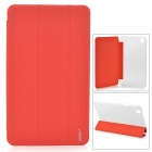 Protective PU Leather Case for Samsung Galaxy Tab Pro T320 - Red
