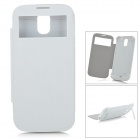 3000mAh Power Bank Battery Case w/ Holder for Samsung Galaxy S4 i9500 - White