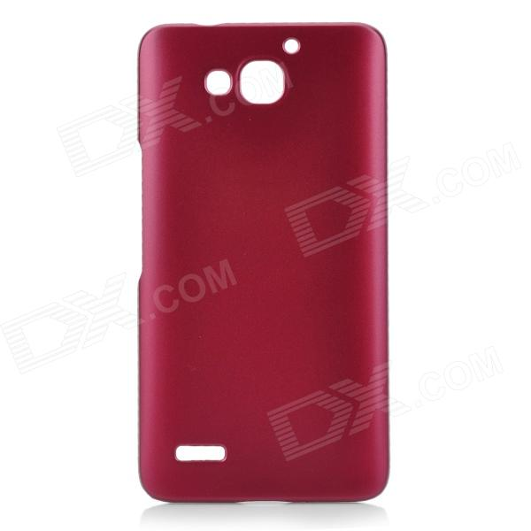 Protective Plastic Case for HuaWei 3X - Purplish Red