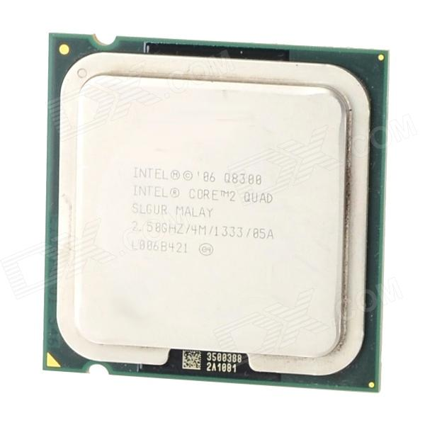 Intel Q8300 Core Quad-Core Processor CPU 2.5GHz LGA775 95W 45nm Processor CPU - Green + Silver