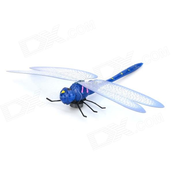 Lifelike Dragonfly Style Plastic Magnetic Sticker for Refrigerator - Blue