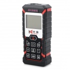 Kaman MK-60 1.8'' LCD Handheld Laser Distance Meter / Rangefinder - Black + Red + Multi-Colored