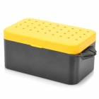 ER-1 Fresh Fishing Bait Storage Box - Black + Yellow