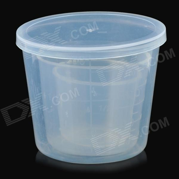 B-3 Portable Fishing Bait Measuring Cup - White (3 PCS)