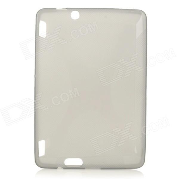 X Pattern Protective TPU Case for Amazon Kindle Fire HDX 7 - Translucent Black