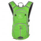 Locallion SPO440 Outdoor Multi-function Backpack w/ Water Bag Compartment - Green + Grey