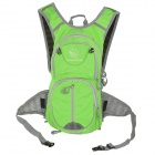 Locallion Outdoor Multi-function Backpack w/ Water Bag Compartment - Green + Grey