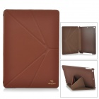 Manleybird 001 Protective PU Leather Case for IPAD AIR - Brown