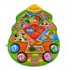 YIQU YQ2905 Kid's English Language Christmas Tree Game Play Music Mat - Orange + Green (3 x AA)
