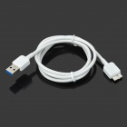 USB to Micro 9Pin Charging Cable for Samsung Galaxy S5 - White (98cm)