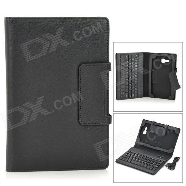 IS11-STL7 Detachable Bluetooth V3.0 Keyboard Case for Samsung Galaxy Tab 3 Lite 7 high quality 30cm usb 2 0 type b male to female m f extension data cable panel mount for printer cable with screw hole