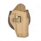 Handy Plastic Waist Holster w/ Buckle for P226 Gun - Earthy