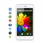 "Catee CT300 MTK6582 Quad-Core Android 4.2 WCDMA Bar Phone w/ 5.0"" IPS, 8.0 MP, GPS, 4GB ROM - White"
