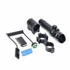 Infrared Scope Light Laser Bevel Verde Frente para 20 milímetros Rail Gun - Preto