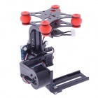 HJ 2-Axis Camera Brushless Gimbal PTZ for Gopro 1/2/3 FPV - Black