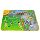 YIQU YQ2909 Kid's English Language Football Game Play Music Mat - Multicolored (3 x AA)