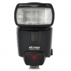 VILTROX JY620N 5400lm 1.8'' LCD TTL LED Flash Speedlite for Nikon DSLR Camera - Black