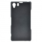 Protective Plastic Back Case for Sony Z1 L39H - Black