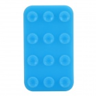 V10 Silicone Suction Cup Anti-Slip Pad for Cell Phone - Blue
