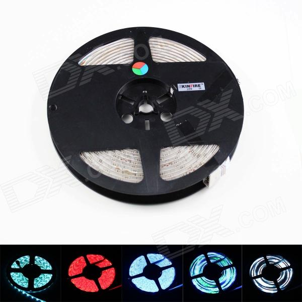 Waterproof 70W 3600lm 270-SMD 5050 LED RGB Light Strip w/ RGB Controller / US Plugss Adapter (DC 12V)
