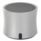 K303 Mini Portable Bluetooth Speaker w/ Microphone / Handsfree Call - Grey + Black (32G Max.)